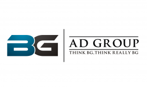 BG Ad Group logo on left