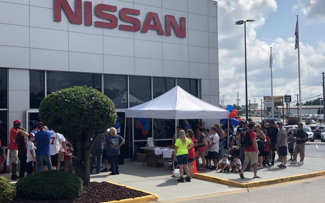 Charlie Culberson at Carriage Nissan