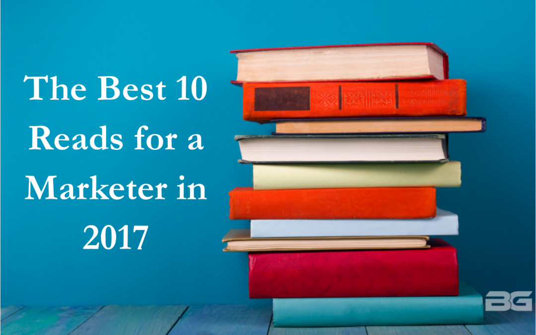 Best 10 Reads for a Marketer in 2017