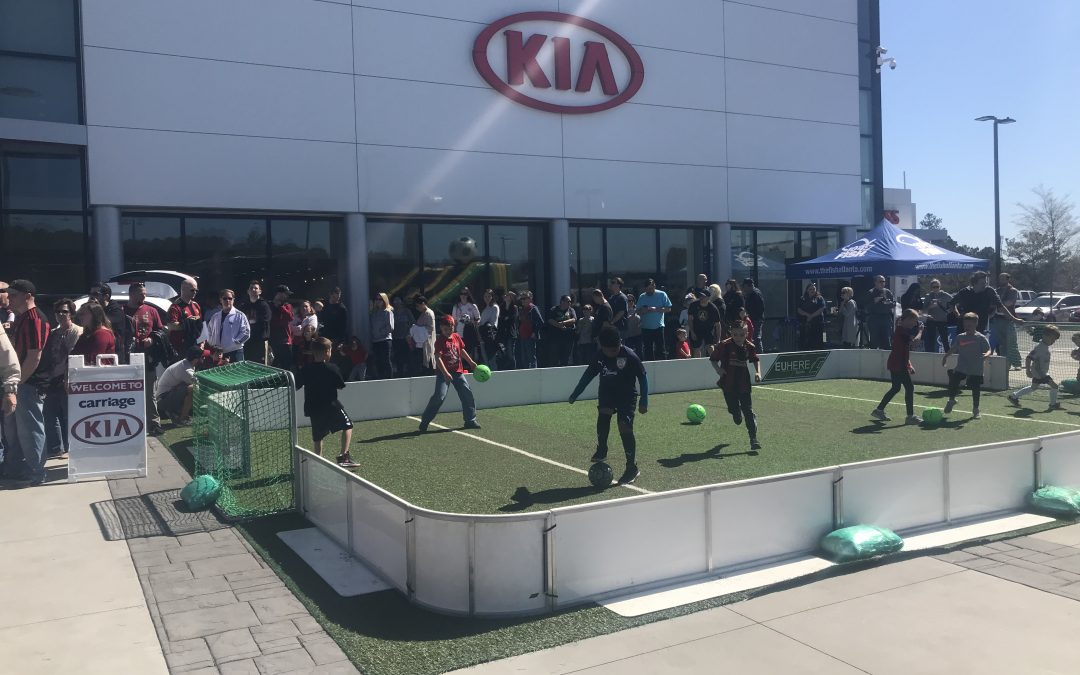 ATL Soccer at Carriage Kia